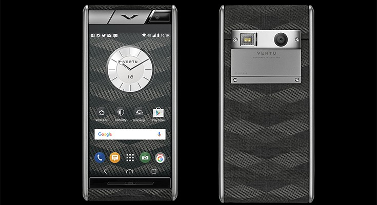 Vertu Aster Chevron is one of the cheapest Vertu phones at $4,200