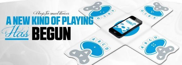 Verzis 4-way multiplayer controller for smartphones and tablets