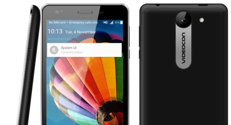 Videocon Krypton V50DA, V50DC budget prices at launch