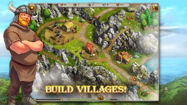 Viking Saga game released for iPhone