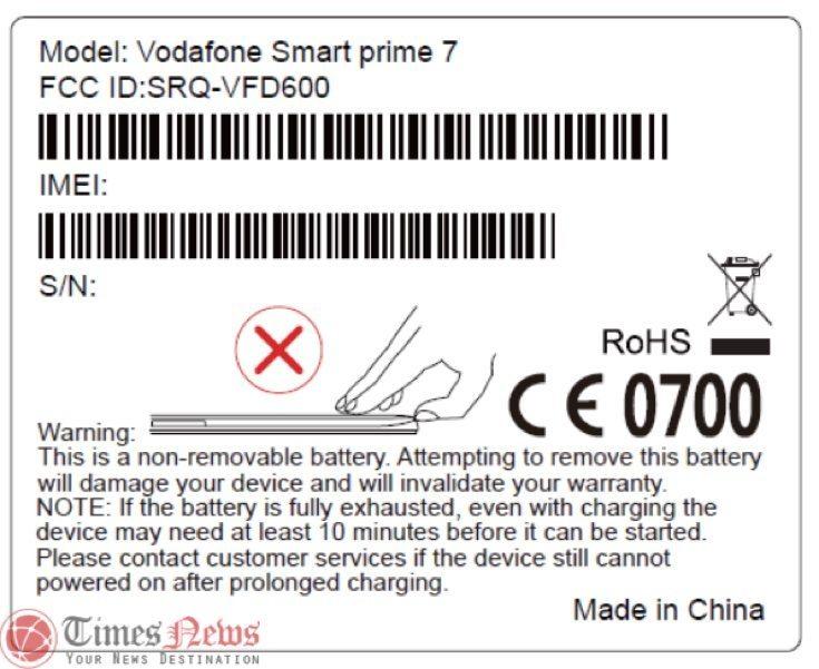 Vodafone Smart Prime 7 [VDF 600] unlock ? - GSM-Forum