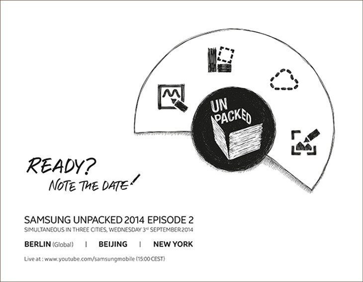 Watch Galaxy Note 4 event