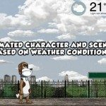 Weather Chum iPhone app brings humour to the forecast