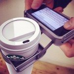 Weird iPhone cup holder, UpperCup case is just stupid