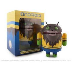Halloween edition werewolf Android collectibles, buy Oct 30th