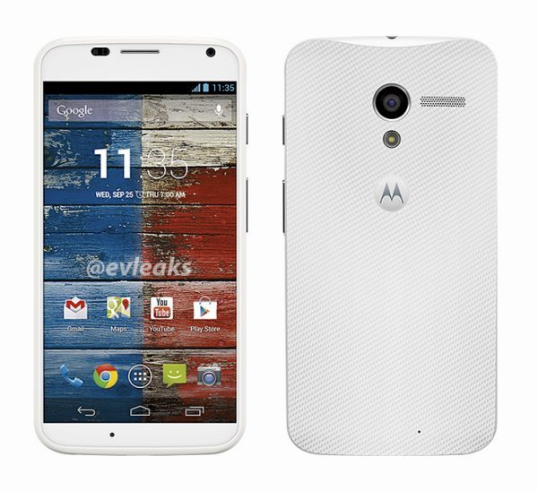 White Moto X Phone