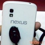 White Nexus 4 caught on video, looks the real deal