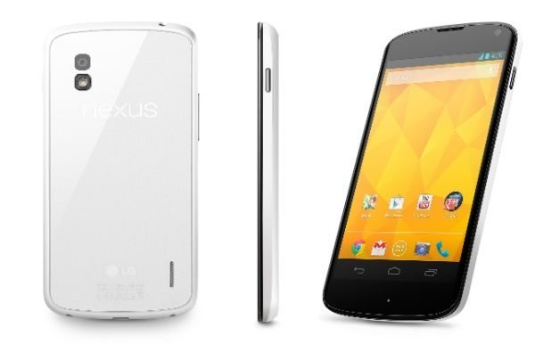 White Nexus 4 shipping problems explained