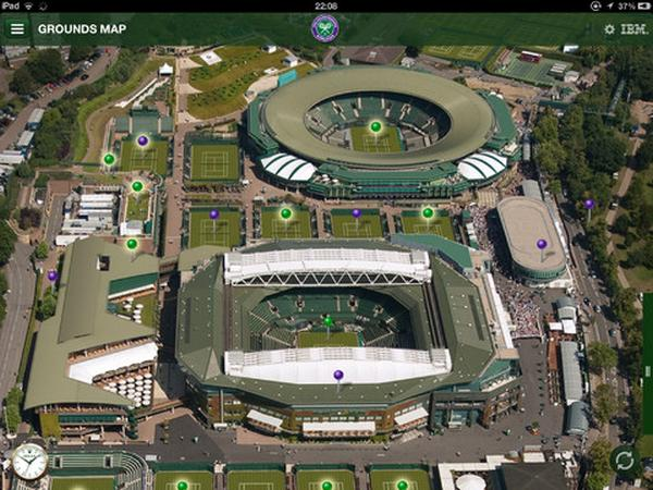 Wimbledon Championships 2013 app for iPad demoed