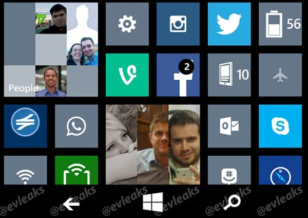 Windows Phone 8.1 physical vs on-screen buttons