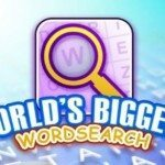 Worlds biggest free word search puzzle mobile game