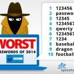 Worst passwords top ten