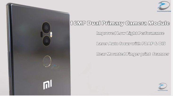 Xiaomi Mi Mix 2 design