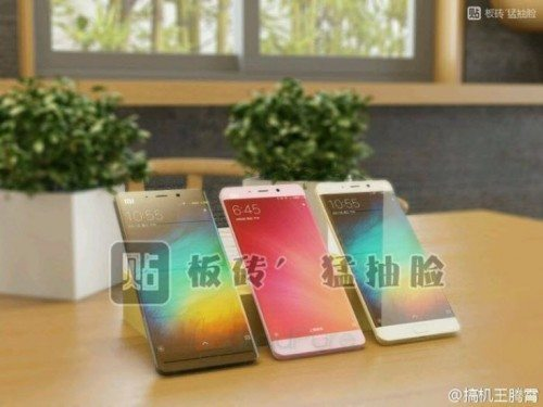 Xiaomi Mi 5s with 6GB RAM spotted online