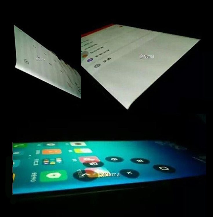 Xiaomi-Mi Note 2 Leaked Pictures