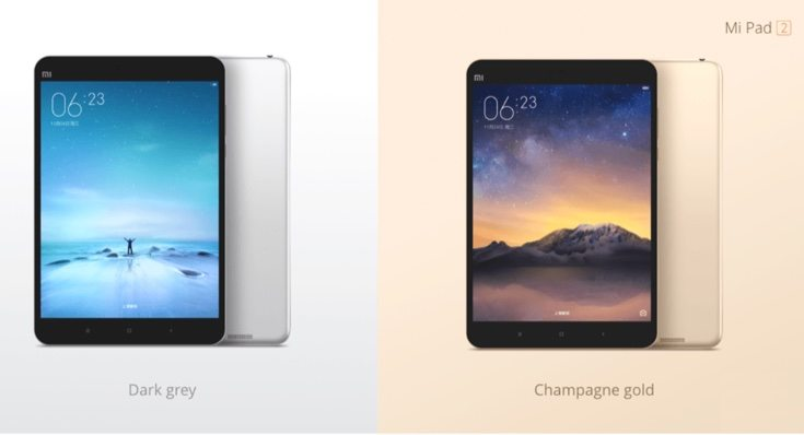 Xiaomi Mi Pad 2 Android and Windows 10 versions unveiled