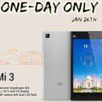Xiaomi Mi3 last chance to buy b