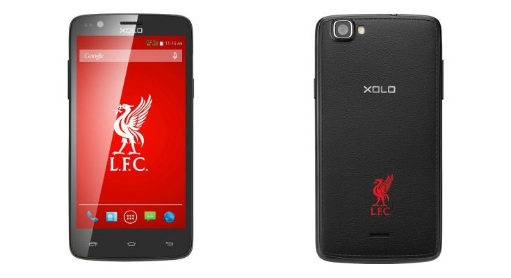 Liverpool FC Edition XOLO One smartphone priced at Rs. 6,299 for India