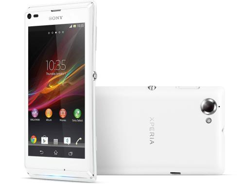 Xperia L unveiled