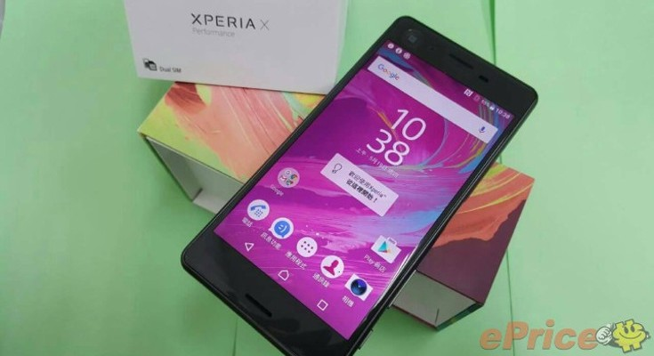 Sony Xperia X Performance Debuts in Taiwan