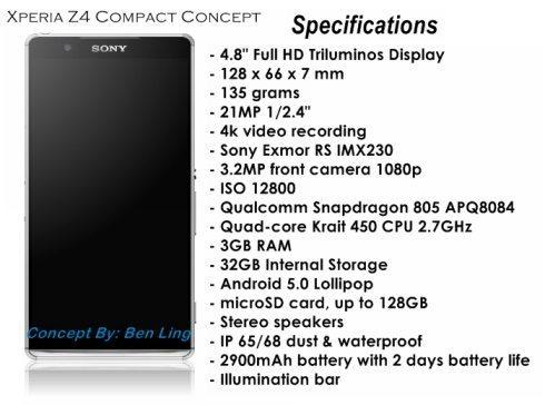 Xperia Z4 Compact Concept b
