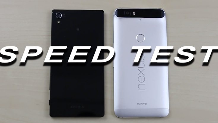 Xperia Z5 Premium vs Nexus 6P speed testing winner