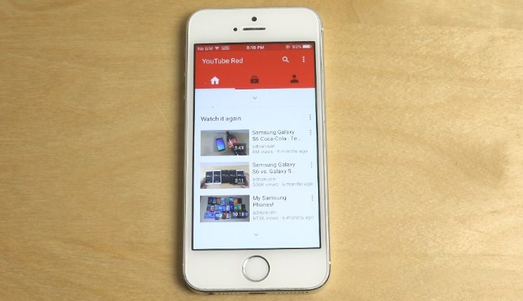 YouTube Red review shows free trial experience - PhonesReviews UK