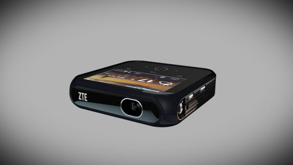 ZTE Projector Hotspot device perfected for LTE portability