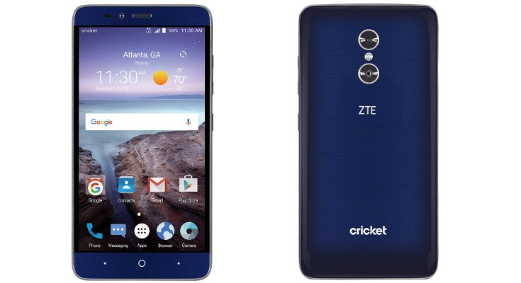 Cricket gets the ZTE Grand X Max 2 for $199