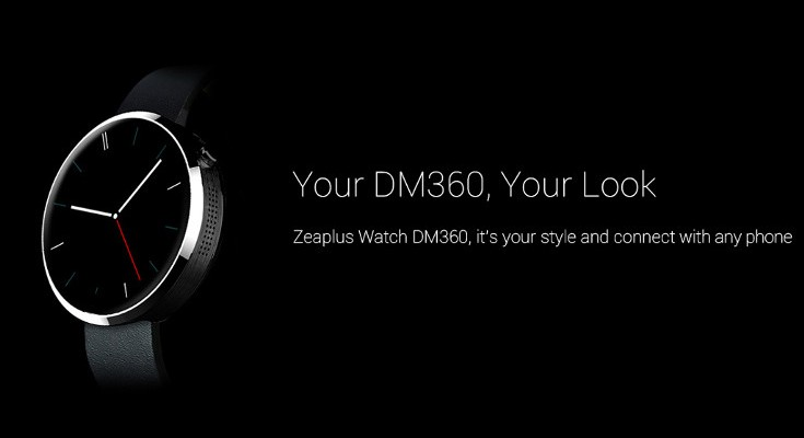 Zeaplus watch DM360