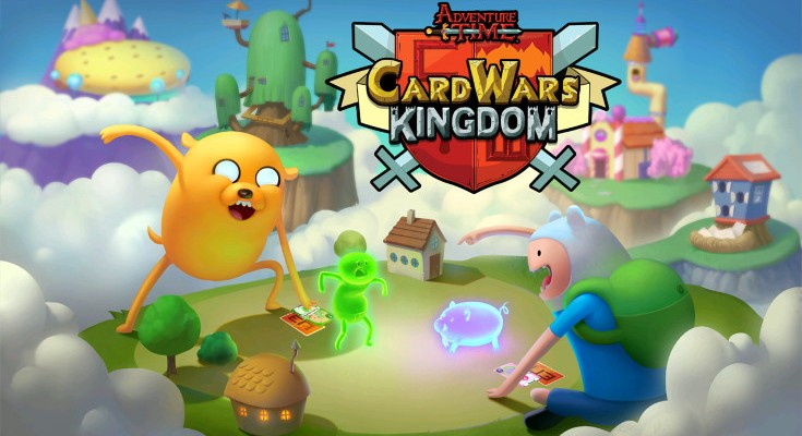 Adventure Time Card Wars Kingdom hits the App Store and Google Play