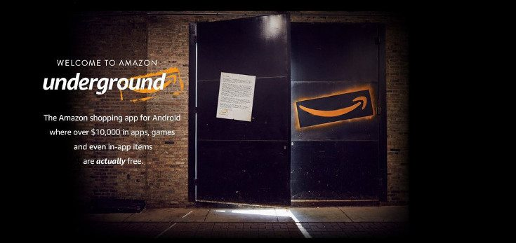 Amazon Underground app launched with $10,000 worth of freebies