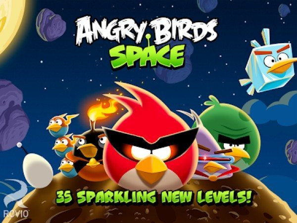 Latest Angry Birds Space update for Android and iOS