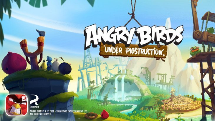angry birds under construction