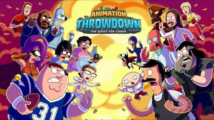 Animation Throwdown game