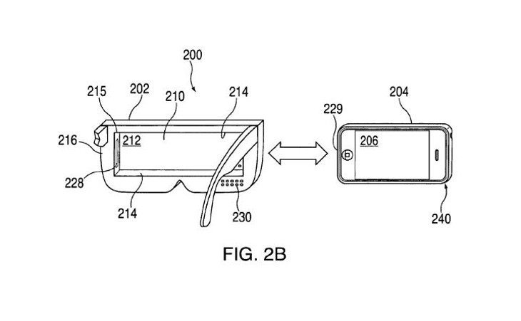 Apple VR headset appears in Patent Filing