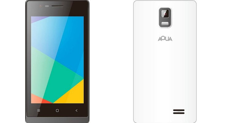 Aqua 3G 512 announced at Rs. 2,699 for India