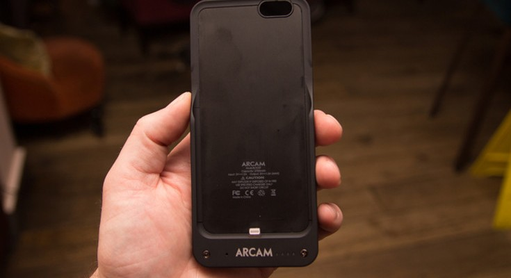 The Arcam MusicBoost iPhone case offers up DAC and extended battery life