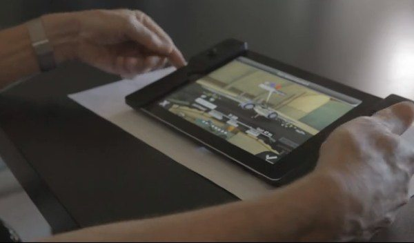 Audojo iPad Case Controller for serious gamers