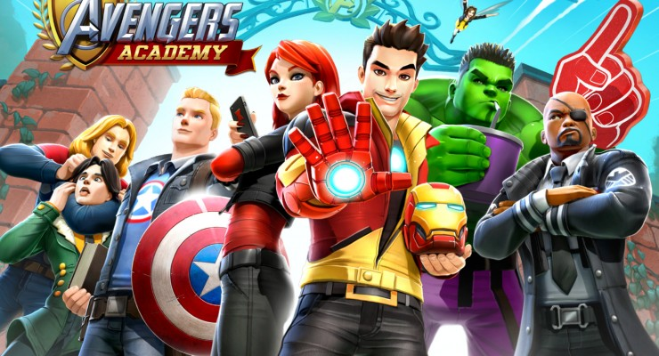 Avengers Academy hits mobiles with Famous Faces and Voices