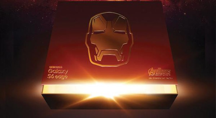 Galaxy S6 Edge Iron Man edition teased ahead of launch