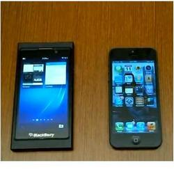 Blackberry 10 vs HTC 8X vs iPhone 5 in Browser Speeds
