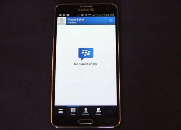 BBM for Android overview on video