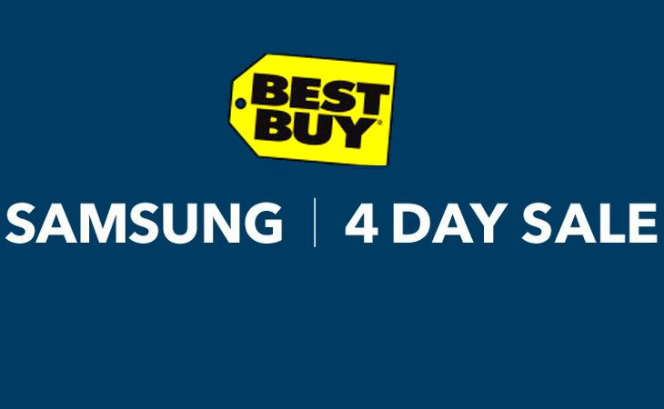 best buy samsung sale
