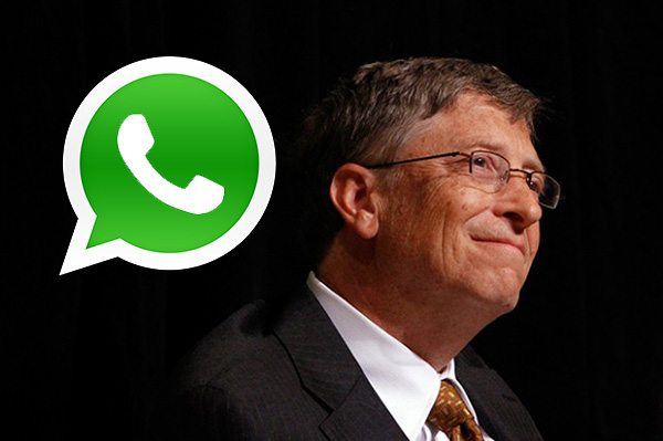 Microsoft would have purchased WhatsApp according to Bill Gates