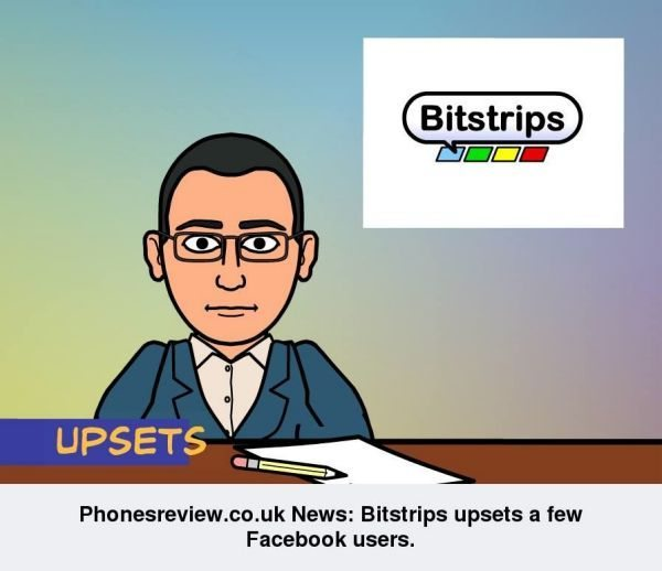 bitstrips app for iphone, android and iPad upsets
