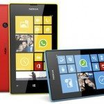 black nokia lumia 520