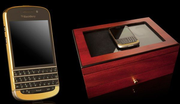 BlackBerry Q10 bling edition has a dazzling price