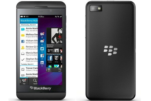 BlackBerry Z10 SIM-free UK price cut