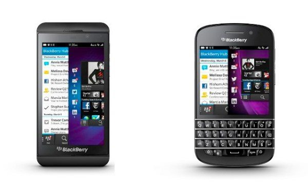 BlackBerry Z10 vs Q10 in mega satisfaction results
